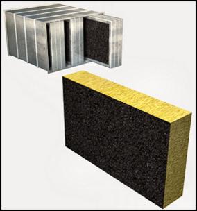 Silenciadores rectangulares