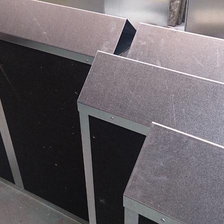Celdilla silenciador rectangular SR