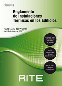Reglamento de Instalaciones Térmicas en los Edificios RITE 2007